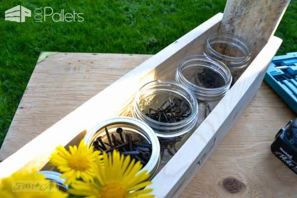 Diy: Pallet Wood Tool Tote Other Pallet Projects