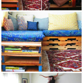 Diy: Upcycle a Pallet into a Couch
