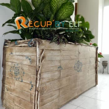 Flower Planter Box From Pallets
