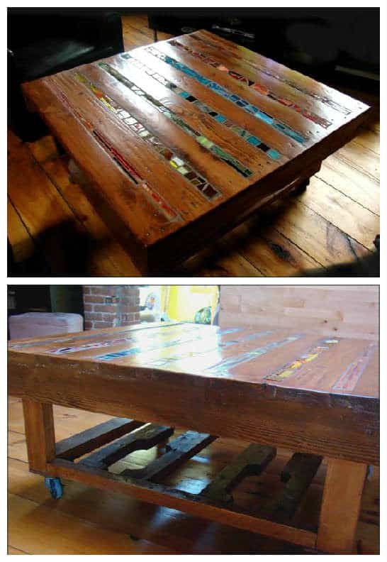 Mosaic Pallet Coffee Table 1001 Pallets