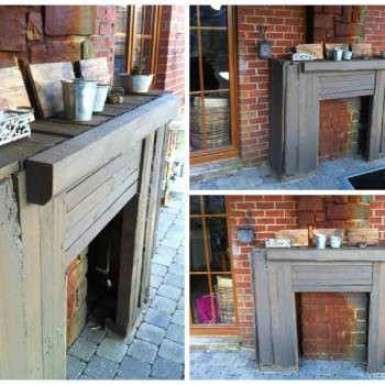 Pallet Outdoor Fireplace