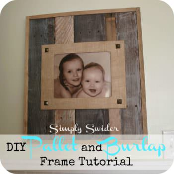 Pallet Picture Frame