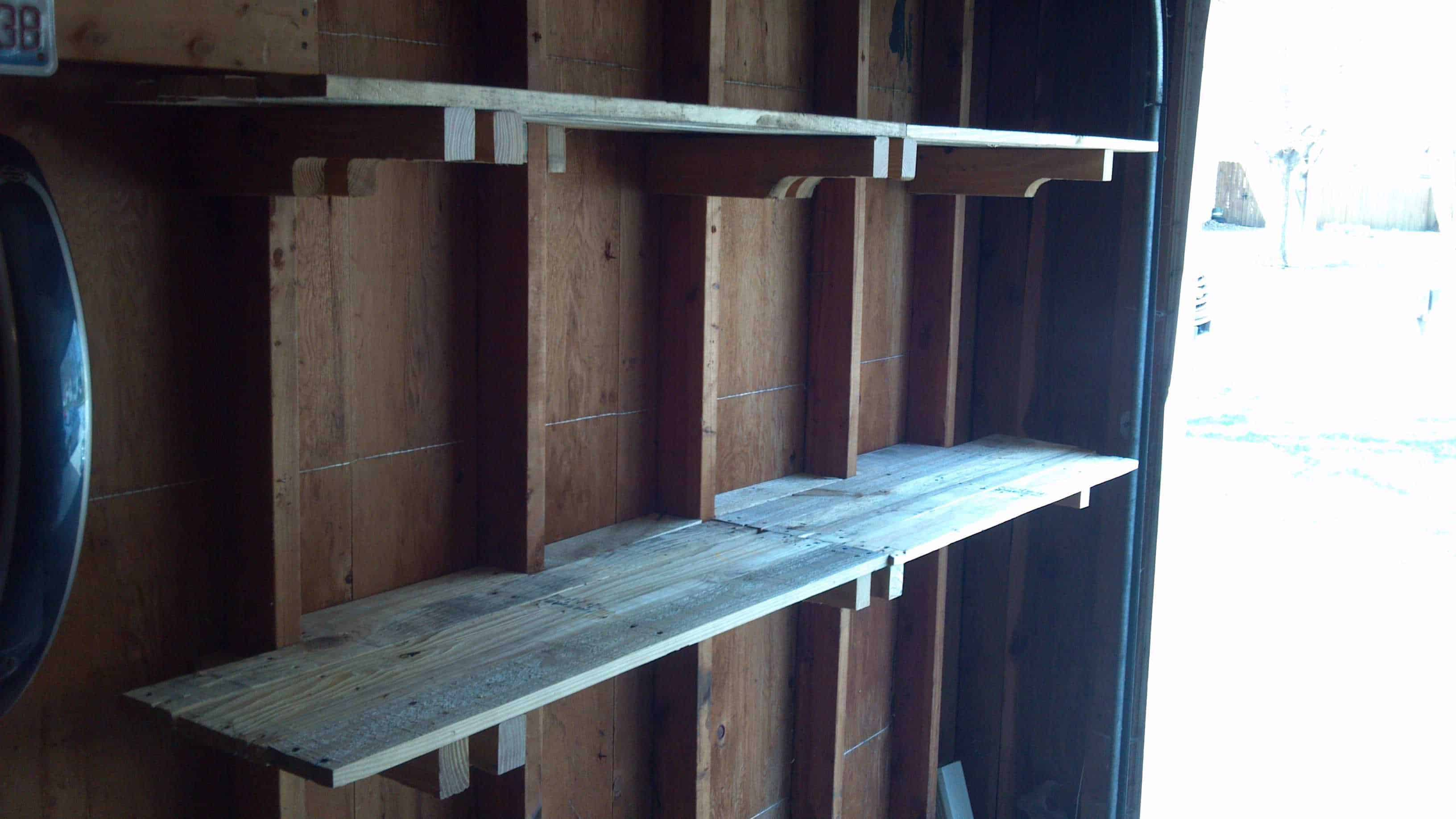 Shelves Made From Pallets Pallet Shelves O Pallet Ideas O 1001 Pallets
