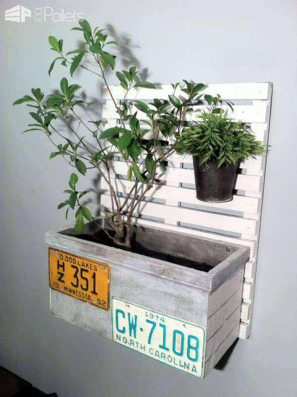 Pallet Wall Planter Pallet Planters & Compost Bins