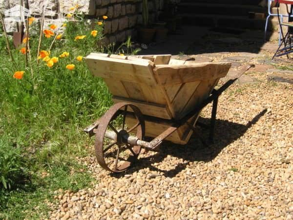 Pallet wheelbarrow 1001 pallets - Lounger for the garden crossword ...