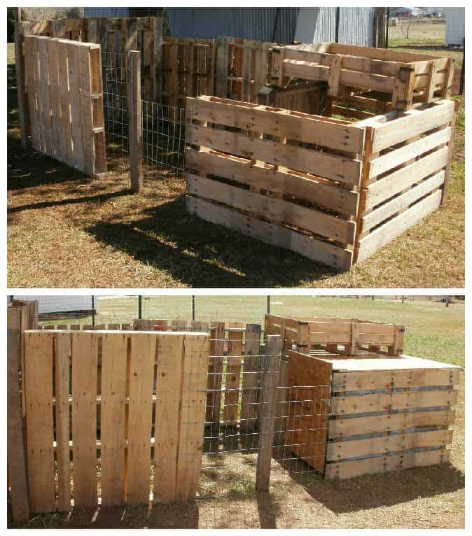 different ideas for garage floors - Pallets Chicken Coop • 1001 Pallets