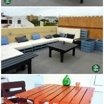 Pallets Terrace Furniture Set