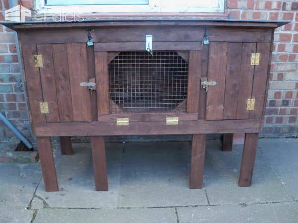 Recycled Pallet Rabbit Hutch Animal Pallet Houses & Pallet Supplies
