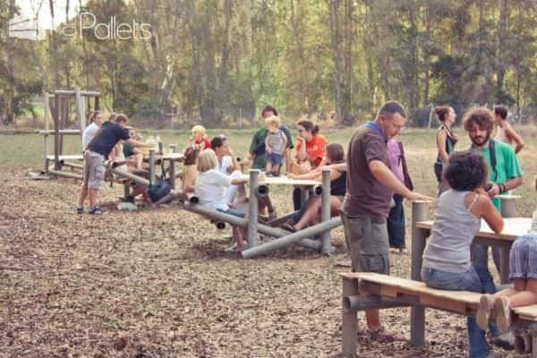 Ri-creazione Farm Edition: Pallets Recycling Lounges & Garden Sets