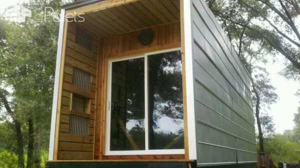 Tiny House on Wheels: Pallet Stud Walls Pallet Sheds, Pallet Cabins, Pallet Huts & Pallet Playhouses