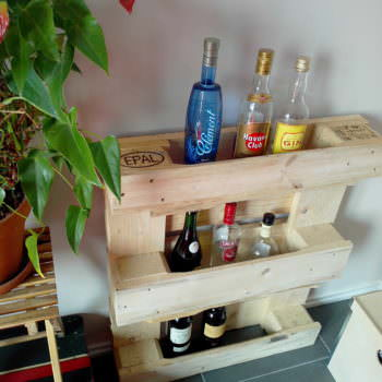 Small And Simple Pallet Bar