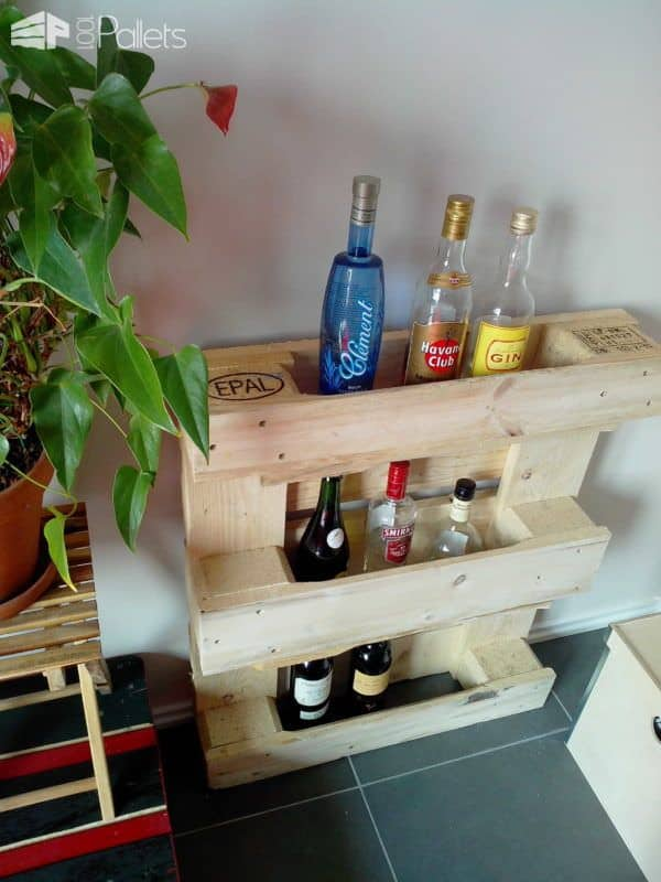 IMG 20130404 1159121 600x800 Small pallet bar in pallet furniture diy pallet ideas  with Pallets DIY Bar