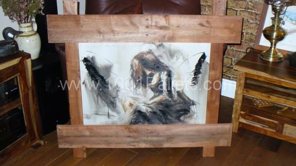 P10601801 600x337 Pallet Frame in pallet furniture  with Pallets Painting Frame