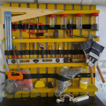Pallet As Tools Shelves
