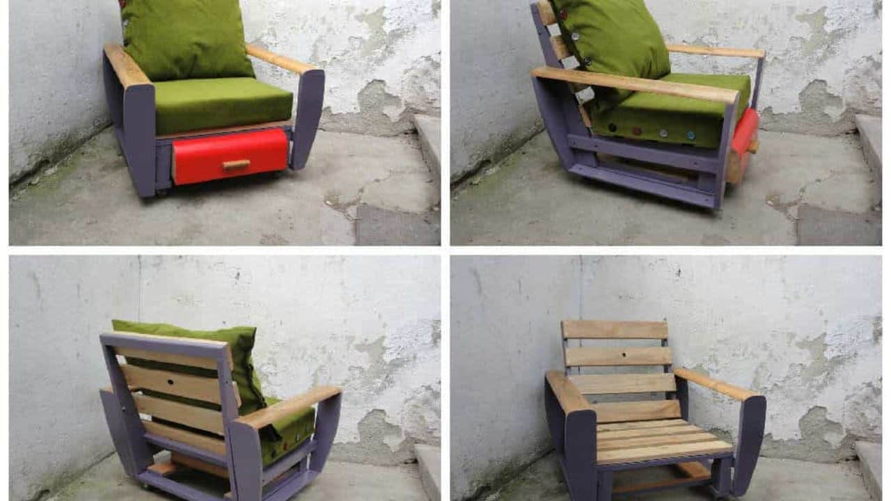 Custom Pallet Armchair • 1001 Pallets
