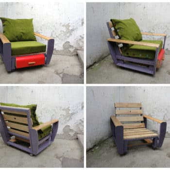 Custom Pallet Armchair