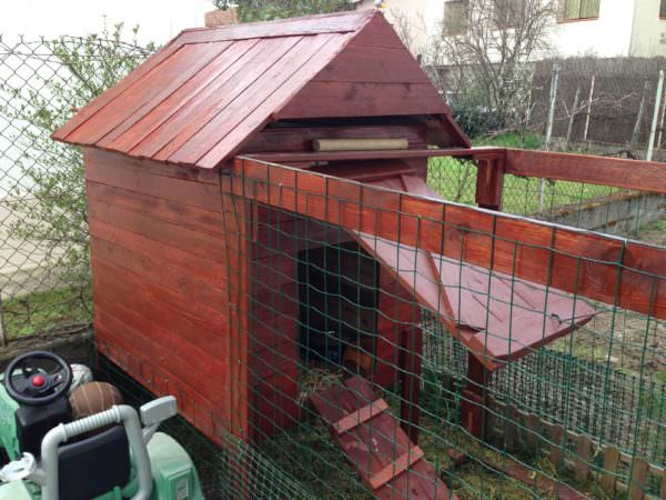 Handmade Chicken Coop With Recycled Pallets / Poulailler En Palettes Fait Main Animal Pallet Houses & Pallet Supplies