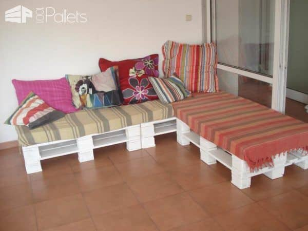 Just Another Upcycled Pallet Sofa Pallet Sofas
