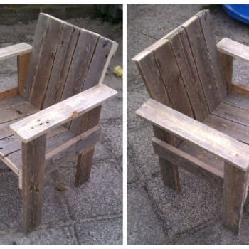 Little Child Pallet Chair