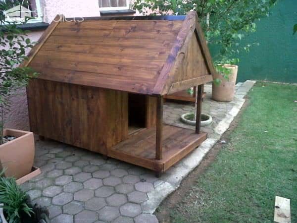 Pallet Dog Kennel & Bar Animal Pallet Houses & Pallet SuppliesPallet Desks & Pallet Tables