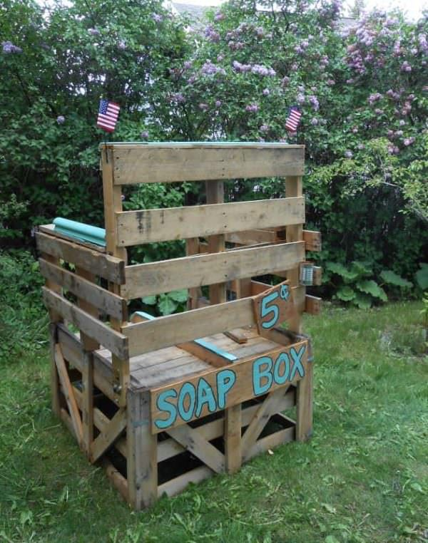 Pallet Soap Box Lounges & Garden Sets