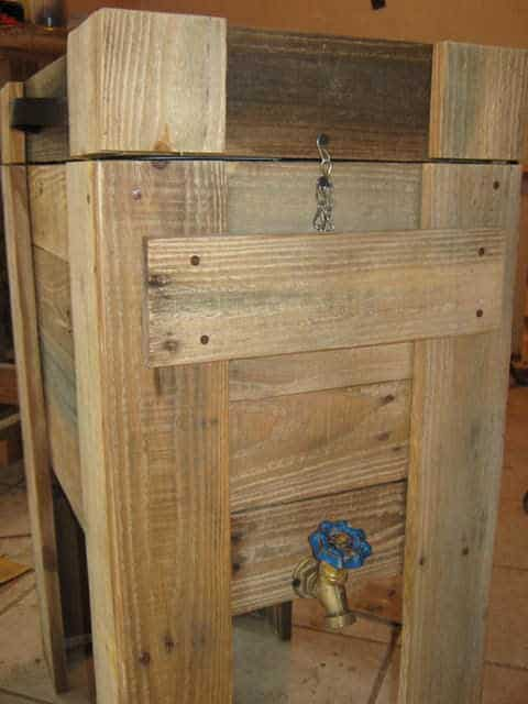 Pallet Wood Cooler Pallet Boxes & Chests
