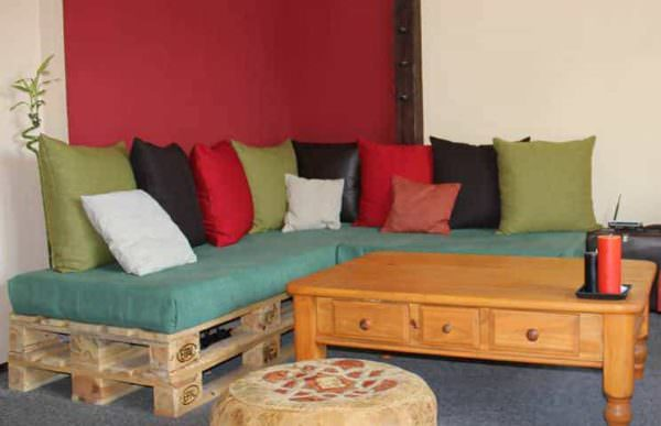 Repurposed Pallet Sofa Pallet Sofas