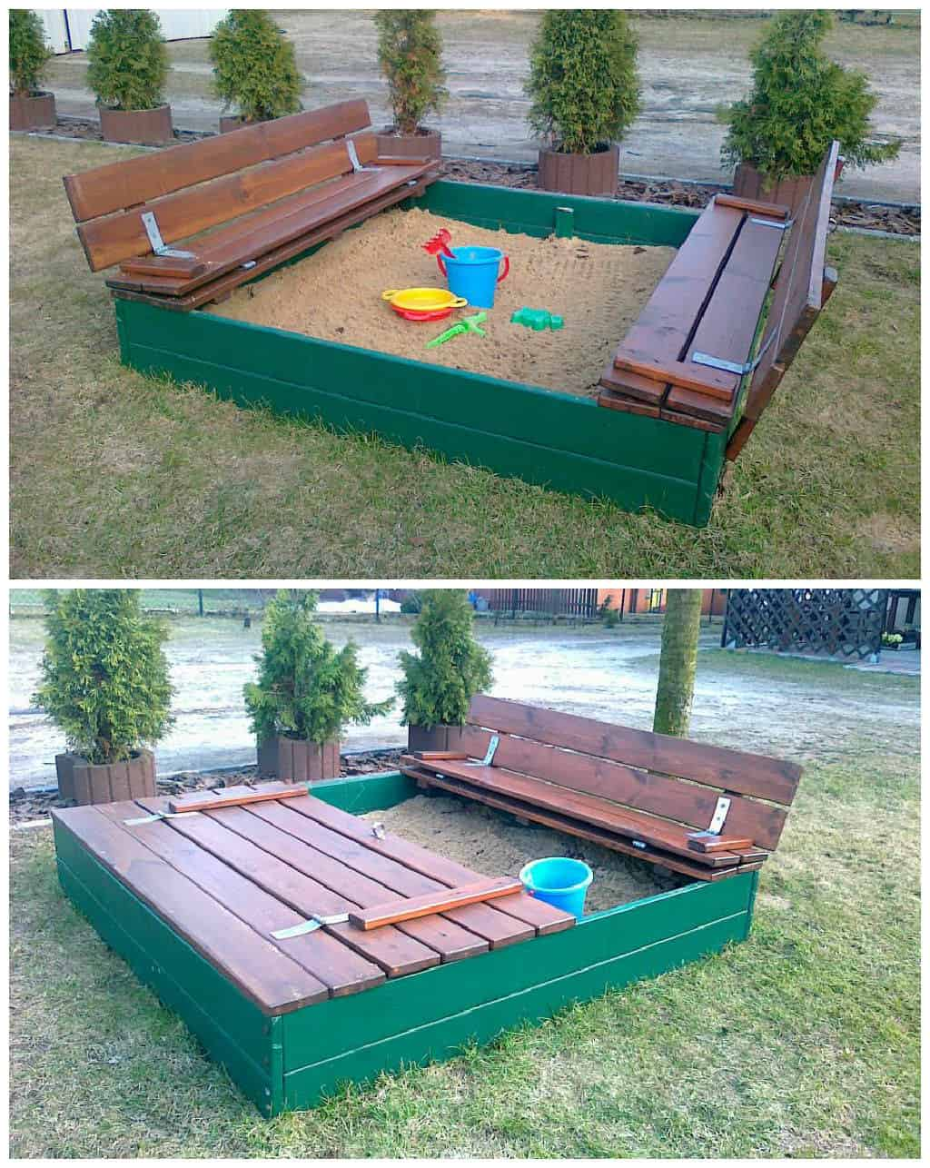 Sandpits Made Out Of Recycled Pallets 1001 Pallets
