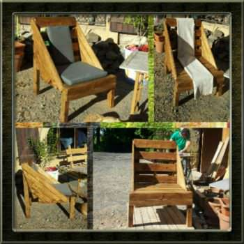 The Use Of Wooden Pallets For Garden Creations