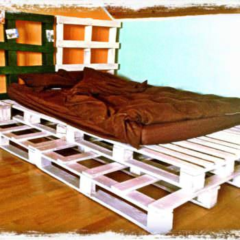 White pallets bed 1001 pallets for White pallet bed
