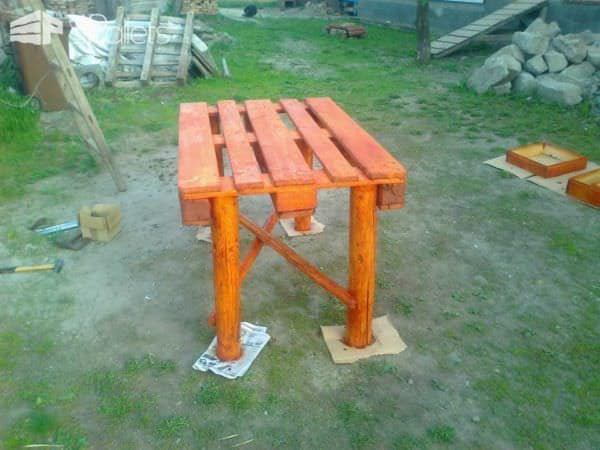 Pallet Garden Table Pallet Desks & Pallet Tables