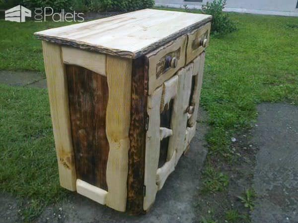 Easy Way To Redesign Old Furniture Pallet Cabinets & Pallet Wardrobes