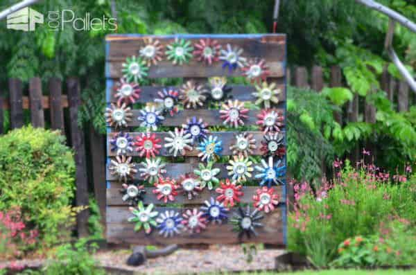 Garden Art - Skid Can Jump Other Pallet Projects Pallets in the Garden
