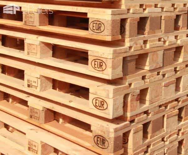 EPAL stamps on pallets usually indicate the pallet is Safe to use.