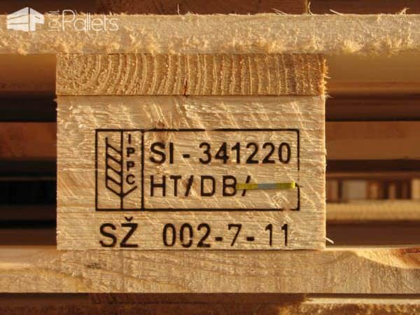 Another example of pallet stamp codes with additional information to keep you Safe.