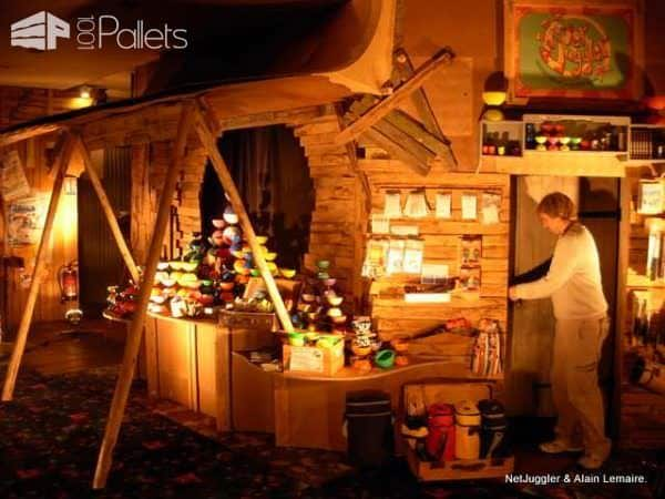 Netjuggler Shop Decoration Pallet Store, Bar & Restaurant Decorations