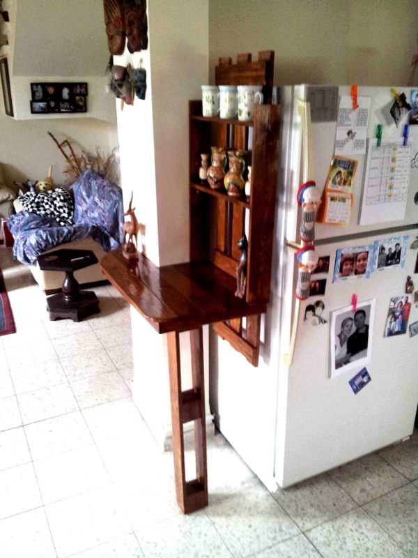 Open Plan Separation Unit DIY Pallet Bars