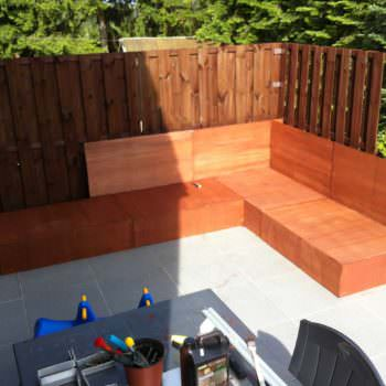 Our Outdoor Relax Sofa Made Out Of Pallets