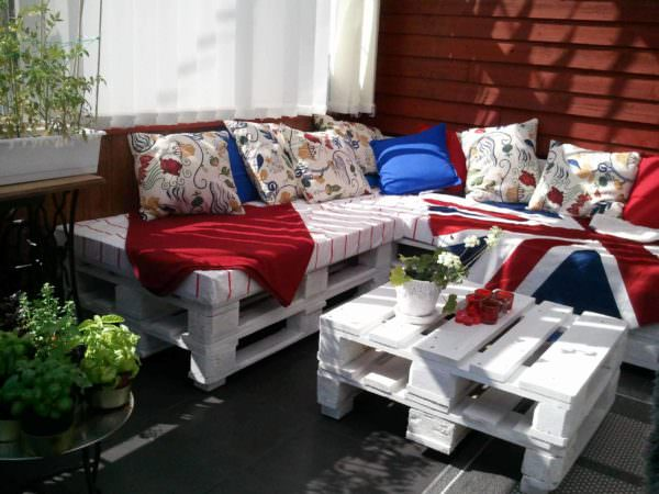 Outdoor Balcony Lounge Lounges & Garden Sets