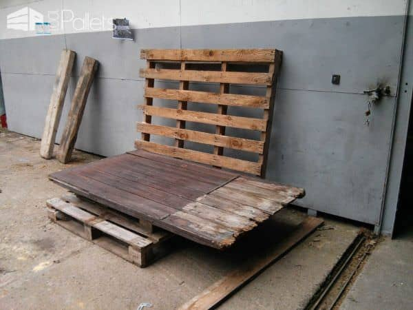 Outdoor Pallet Bench / Banc De Palets Pallet Benches, Pallet Chairs & Pallet Stools