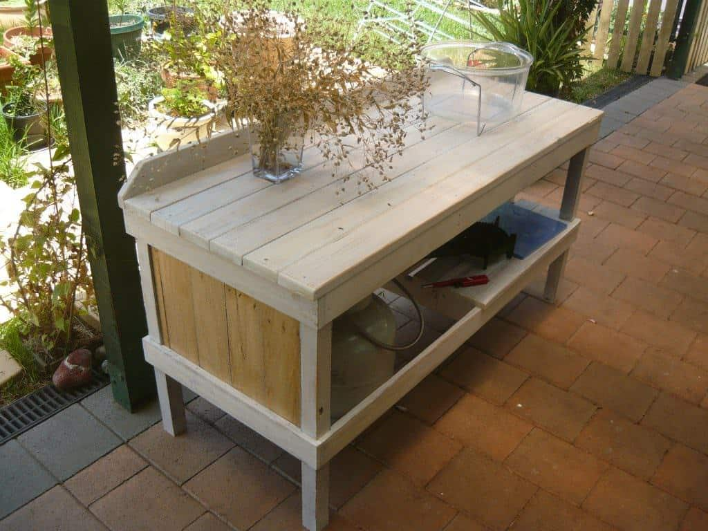 Outdoor Pallet Cooking Table 1001 Pallets