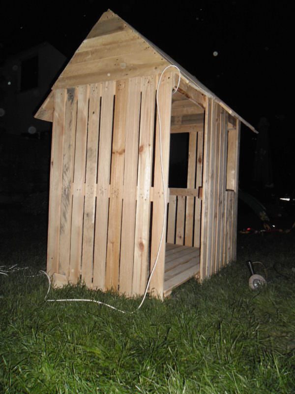Pallet Kids Playhouse Fun Pallet Crafts for Kids Pallet Sheds, Cabins, Huts & Playhouses