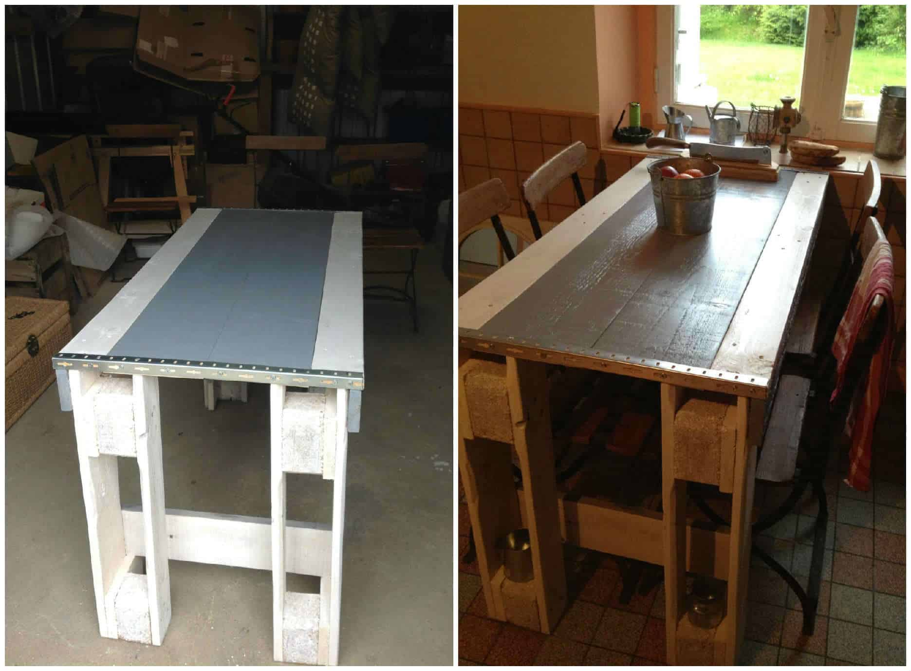 Pallet Kitchen Table Home Design Ideas And Pictures # Diy Pallete Cuisine