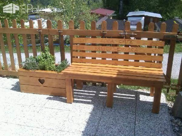 Pallet Outdoor Bench Pallet Benches, Pallet Chairs & Pallet Stools