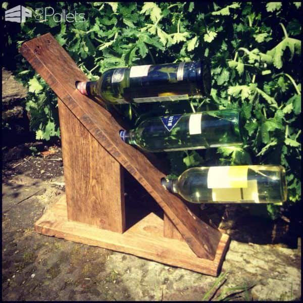 Pallet Wine Rack Pallet Home Accessories