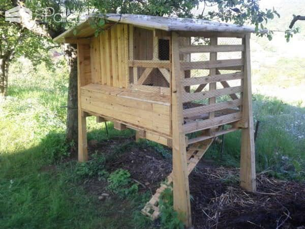 Pallets Chiken Coop Animal Pallet Houses & Pallet Supplies