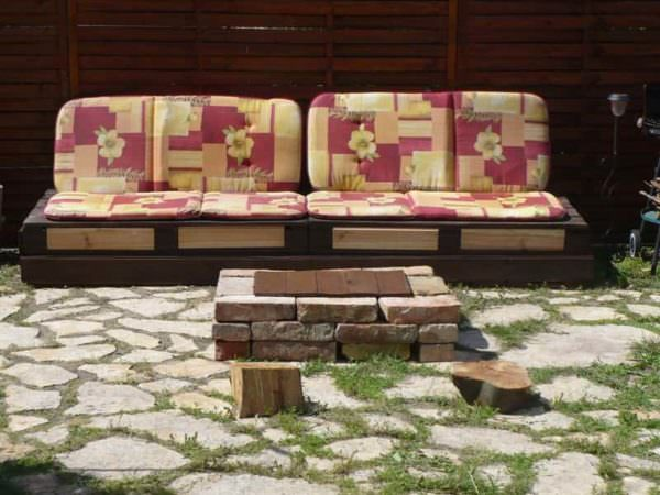 Pallets Outdoor Sofa Pallet Sofas & Couches