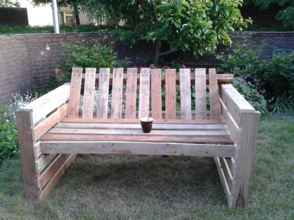 Relax Pallet Garden Sofa Pallet Benches, Pallet Chairs & Stools