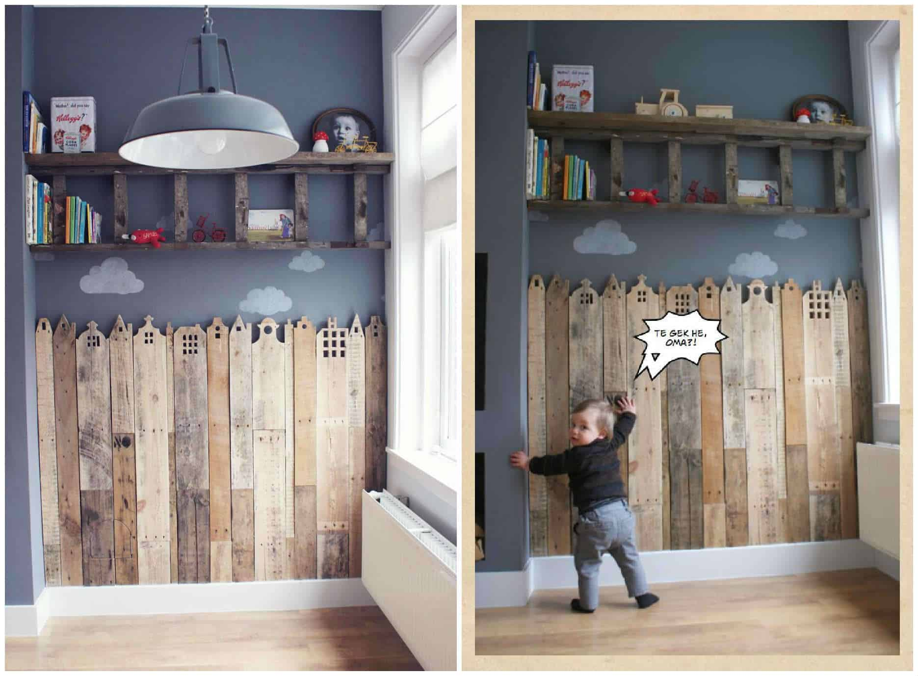 Spectacular Tutorial Pallet Creative Corner For Your Child Houses of Holland u Pallets