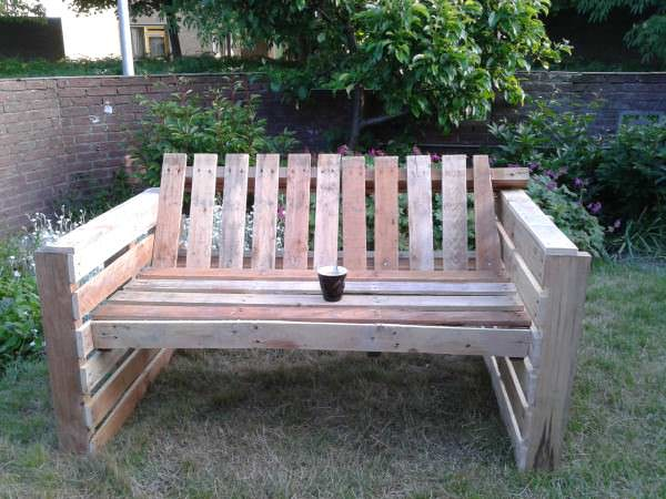 Relax Bank Lounges & Garden Sets Pallet Benches, Pallet Chairs & Pallet Stools